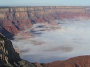Grand Canyon Total Cloud Inversion Timelapse