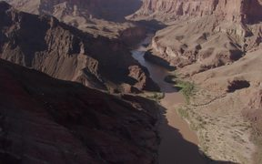 Grand Canyon NP: Over River, View of Lava Chuar