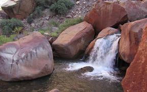Grand Canyon National Park: Split Rock Waterfall