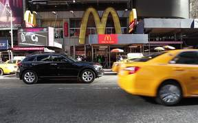 Mc Donalds in Times Square