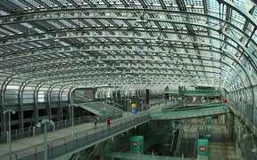 Metro Station Porta Susa