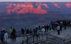 Grand Canyon NP: Sunset from Mather Point