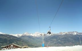 Ski Resort Lift Gondola