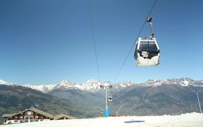 Ski Resort Lift Gondola