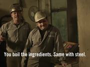 Hornbach Video: Made From Real Armour Steel