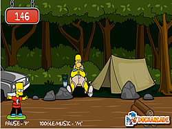Bart Simpson Skateboarding Game - Play online at Y8.com