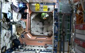Astronauts in Zero Gravity