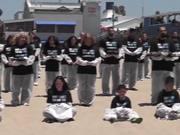 Dead Animal Protest Santa Monica on May 31, 2014