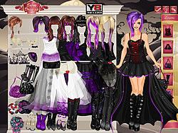 Goth Bride Dress Up Ga...Y8 Y8 Games Online