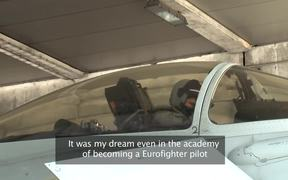 The Italian Eurofighter Pilot