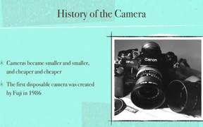 Camera History Lesson