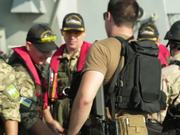 US leads drill at Sea
