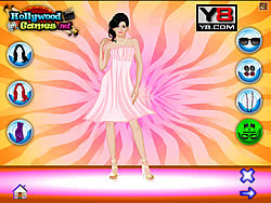 Penelope Cruz Dress up Game - Play online at Y8 com