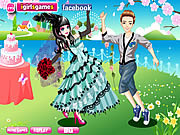 Emo Bride Dress Up