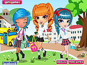 Cutie Trend School Girl Group Dress Up