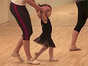 Harper in Dance Class