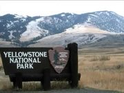 Yellowstone National Park: National Park Mountain