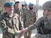 Mentoring the Afghan Forces