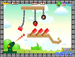 Chicken Shoot Game - Play online at Y8.com