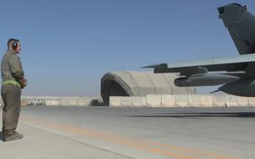 British Tornadoes Final Take off from Afghanistan