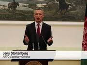NATO Secretary General tours Afghanistan