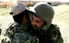 Afghan Soldiers in Combat