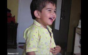 Rehaan laughing baby