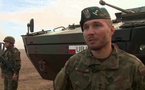 Boosting Allied forces in Poland