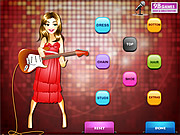 Disco Girl Dress Up Game