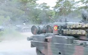 US Tanks Return to Europe for Live Fire Training