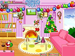 New Year Room Decor Game Play Online At Y8 Com