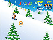 Naruto Snowboarding