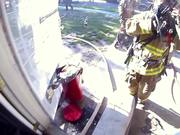 GoPro Camera Video: Fireman Saves Kitten