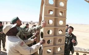 Afghan Army takes on Heavy Equipment
