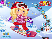 Snowboarder Girl Dress Up