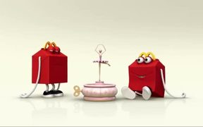 McDonald's TV Commercials Happy Meal