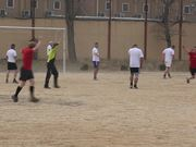Football Match in Kabul Afghanistan