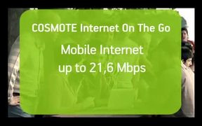 Cosmote Mobile Internet Commercial: Street Racing