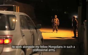 Warrior Blood: the Mongolian army in Afghanistan