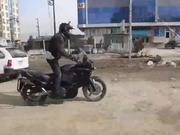 Motorcycling from Kabul to London