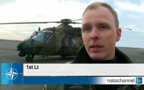 NATO Jets train with Nordic Partners
