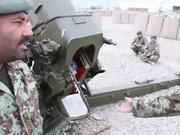 ANSF Artillery in Action
