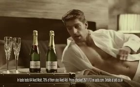 Aldi UK Commercial: Champagne