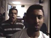 Vijay and Javed (BADLY) Lipsynch to-Aap Jaise Koi