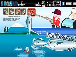 لعبة صيد سمكة التونة العنيدة