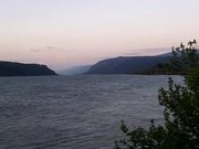 Columbia River at Sunset