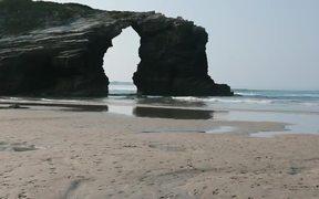 Beautiful Rocks in the Beach