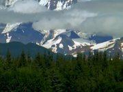 Alaska Mountains Collage Royalty