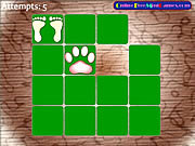 Animal Footprint Pairs