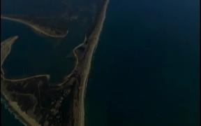 Aerial View of Ocean Islands